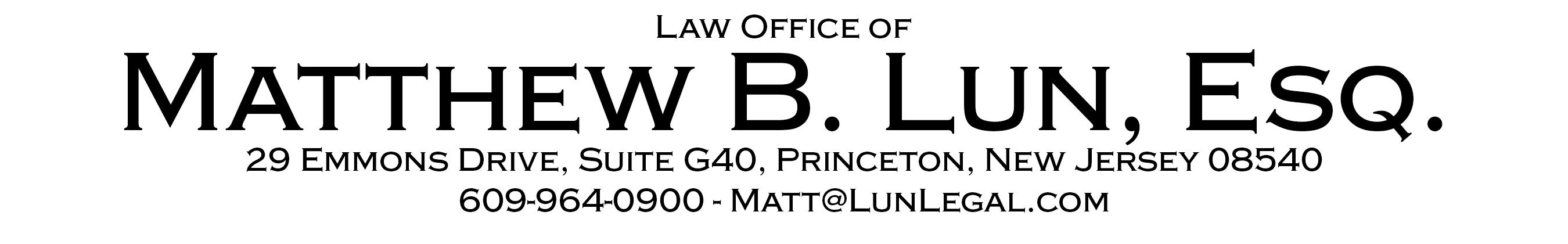 NJ Gun Permit Process - Law Office of Matthew B. LunLaw Office of ...